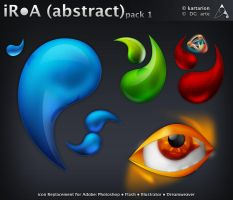 iR-A -abstract- pack 1 by dgarte