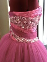 Beaded Prom Dress 2 by phantomonex