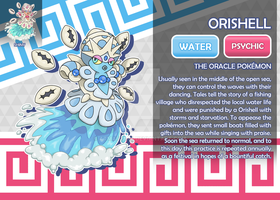 Orishell, the Oracle Fakemon by AtmaFlare