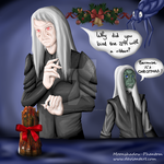Happy wraithy Christmas~ by Moonshadow-Phantom