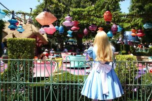 Watching the tea party by DisneyLizzi