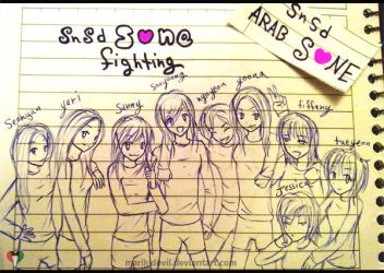 SNSD - SoNe 4ever by marik-devil