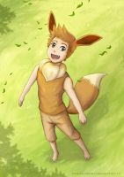 Eevee Boy by stryler
