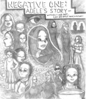 Negative One: Adele Poster by swankivy