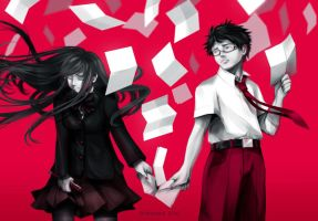 RED: LETTERS by Hikarisoul2