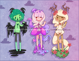 Adoptables Batch 5: CLOSED by fawnbun