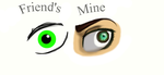 So I had an eye drawing contest with my friend.. by Captainsnarkyninja