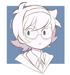 Little Witch Academia - Lotte (Sketch) by chocomiru02