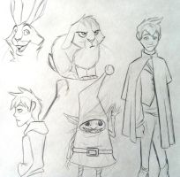 ROTG Fan Doodles by bmbbaby4