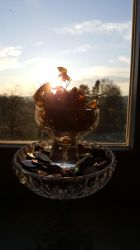 cup of old luck upon the bowl of cents by niC0ras