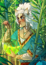 The White Shaman - Bamboo by Miss-Pannacotta