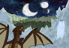Wings of Fire Contest Entry by TwistedTwisters