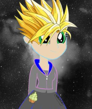 Super sayian Wubcake by DeathbronyYT