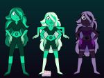 Emerald, Obsidian and Malachite by november123456789066