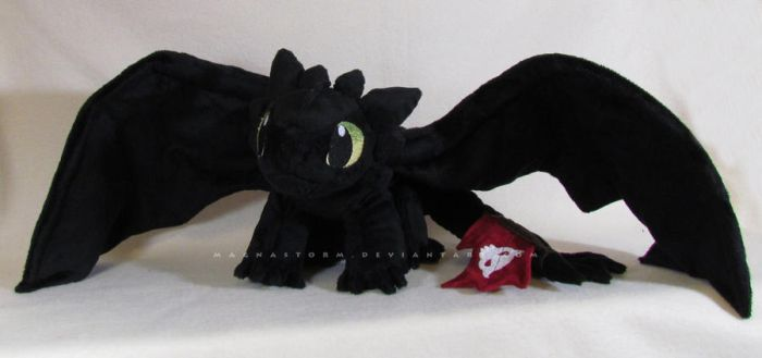 Toothless 3 by MagnaStorm
