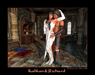 Kahlan and Richard by Pachou31