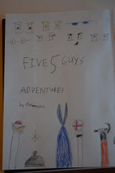 Five Guys Adventures Title by annonmyous