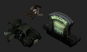 Welcome to City Arkam by danimation2001