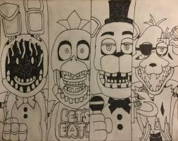 The Withered Ones (WORK IN PROGRESS) by WitheredFreddy1993