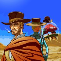 The Good The Bad The Metroid by jokoso