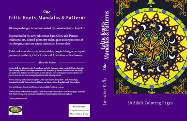 Book cover for Celtic Knots, Mandalas and Patterns by LorraineKelly