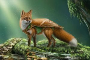Fox Guardian by Eeddey