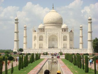 The Taj Mahal vision by childlogiclabs