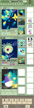 Team SNAGGLETOOTH Application 2.0 by doodlesANDkyn