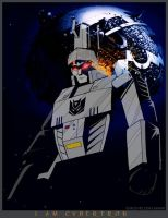 Megatron - I Am Cybertron by WaywardInsecticon