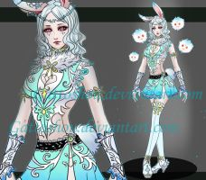 FEMALE BUNNY ADOPT 169 [Auction] [CLOSED] by GattoAdopts