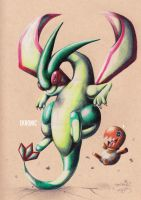 Flygon And Trapinch