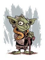 Toy Yoda by OtisFrampton