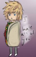 And then this happened. ~ Taco Roxas by fizzynerd