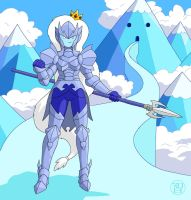 Armored Ice Queen by Kairu-Hakubi
