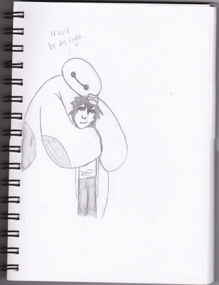 Baymax Cudddles!! by JellyDiAngelo