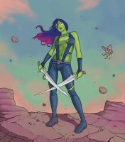 Gamora by Nuclearpasta