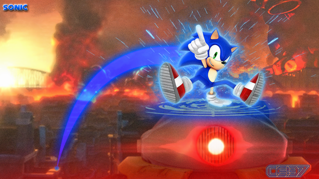 Fighting Back...Sonic STYLE!! by CosmicBlaster97