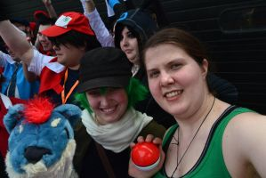 ACen 2015: Ain't easy being green by LizDoodlez
