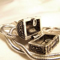 Treasure Chest Necklace by SteamSociety