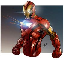 Iron Man commission by Alex0wens
