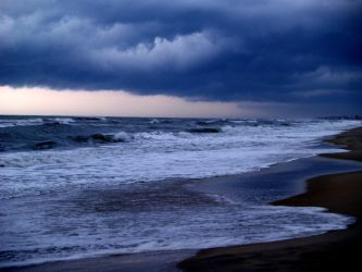 OBX rain, storm, sky by alimuse
