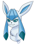 Glaceon by Rojurou
