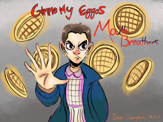 Day 40: Stranger Things Eleven by IsaacChamplain