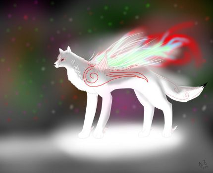 White light majesty(redraw) by Amaterasu-Zelda