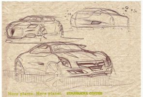 Napkin sketches by mikelyden