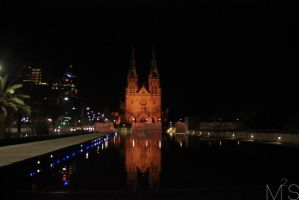 St. Mary's Cathedral by maitaphotography