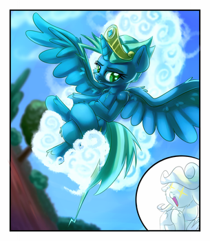 Princess of flying by thediscorded