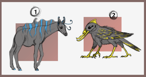 CREATURE // AUCTION // CLOSED by Creature-Designer