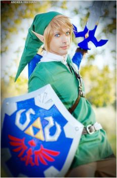 Link - The legend of Zelda Skyward Sword by IKaggi14