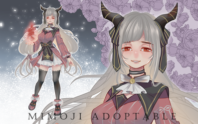 (RE-OPEN) Adoptable Auction #monster girl by mimojiX